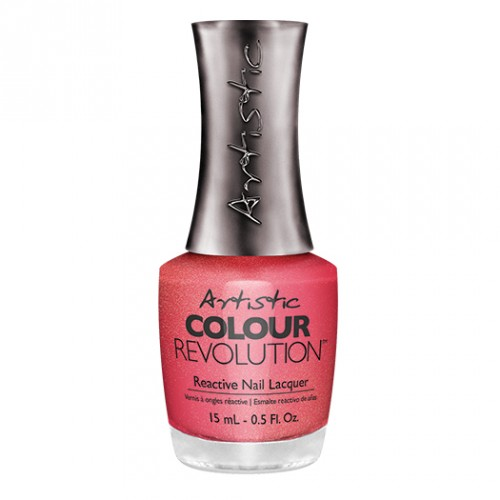 Hell On Wheels - Bright Coral Shimmer