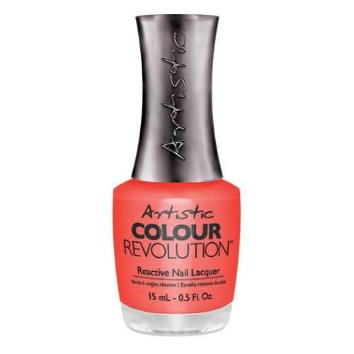 HAUTE COUT-ORANGE - DARK CORAL SHIMMER
