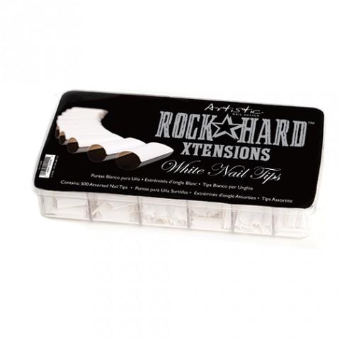 White Nail Tips, 500pcs