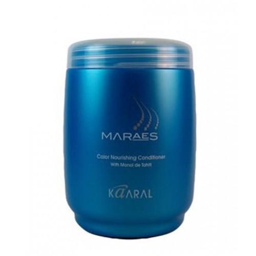 MARAES  fargepleiende hårkur med Monoi de Tahiti, 1000 ml