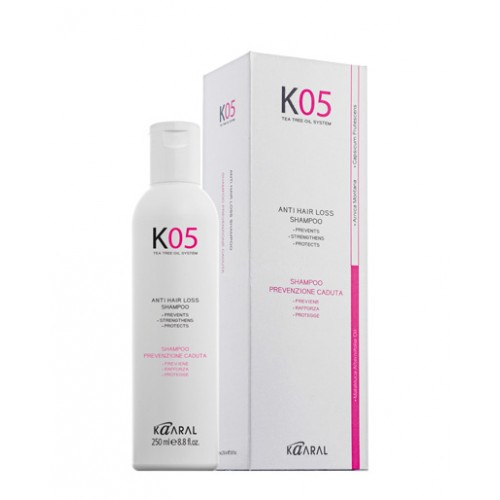K05 ANTIHAIR LOSS Hår sjampo, 250 ml